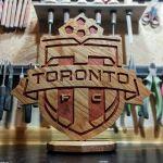 Statuetka inspirowana logo klubu piłkarskiego 3 - Inne ujęcie