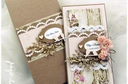 Jesienny ślub, w pudełku - WZÓR