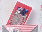 """Urocza Karteczka """"KOPERTÓWKA"""" w ozdobnym pudełku"""