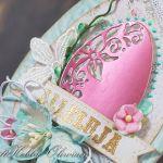 Wielkanocna miętowa pisanka