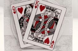 Karty do gry miłosny poker ślubna KS135