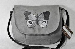 Torebka listonoszka malowany motyl