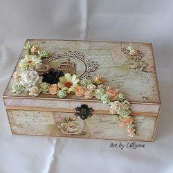 Romantyczna szkatułka na drobiazgi #2