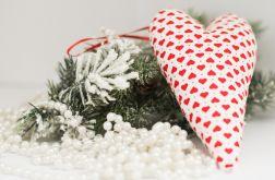 Świąteczne serce na choinkę lub stroik #1