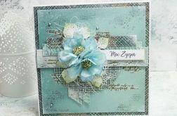 Moc życzeń- kartka z pudełkiem MŻ1