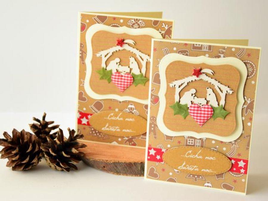 Kartka Bożonarodzeniowa z Sercem 2020 - kartka bożonarodzeniowa
