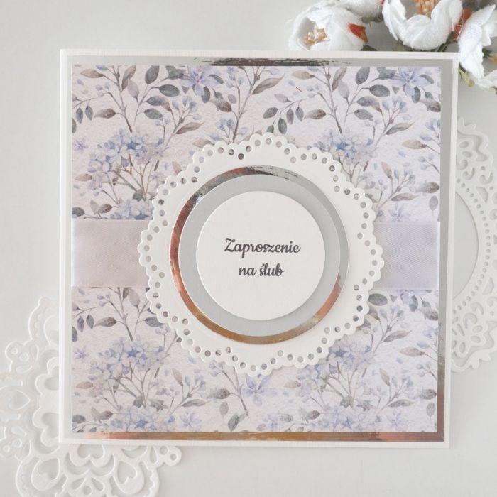 Zaproszenia ślubne- mgiełka
