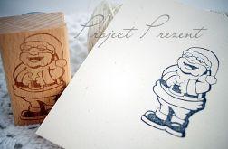 Rpzbawiony Mikołaj - grafika