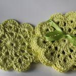 Małe serwetki - podkładki zielone