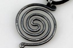 Spirala - srebrny wisior 190710-06