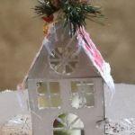 Lampion - domek ze świeczką