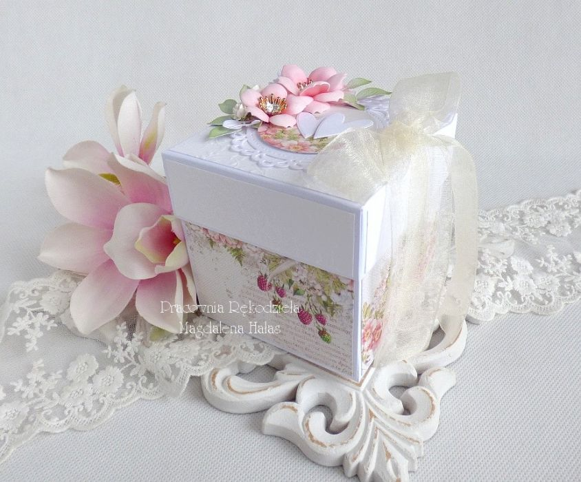 Ślubny exploding box 224