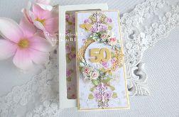 Kartka jubileuszowa w pudełku 39