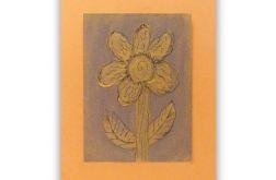 Kwiat 6 - rysunek dekoracyjny