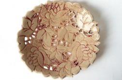 Ceramiczna patera kremowa 20