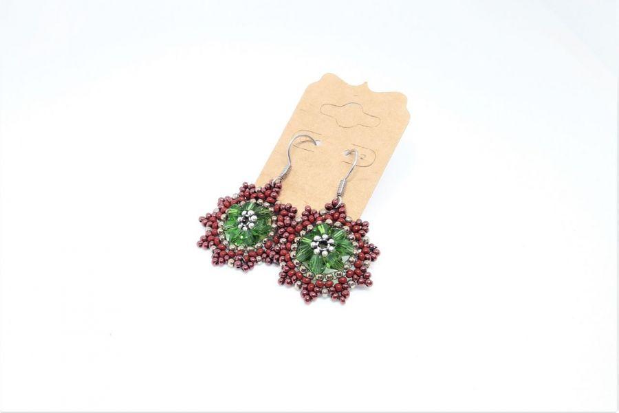 Kolczyki świąteczne - gwiazdy 5