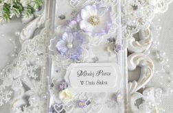 Ślubna kartka DL w pudełku z okienkiem 30