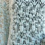 Ażurowy sweterek w kolorze miętowym