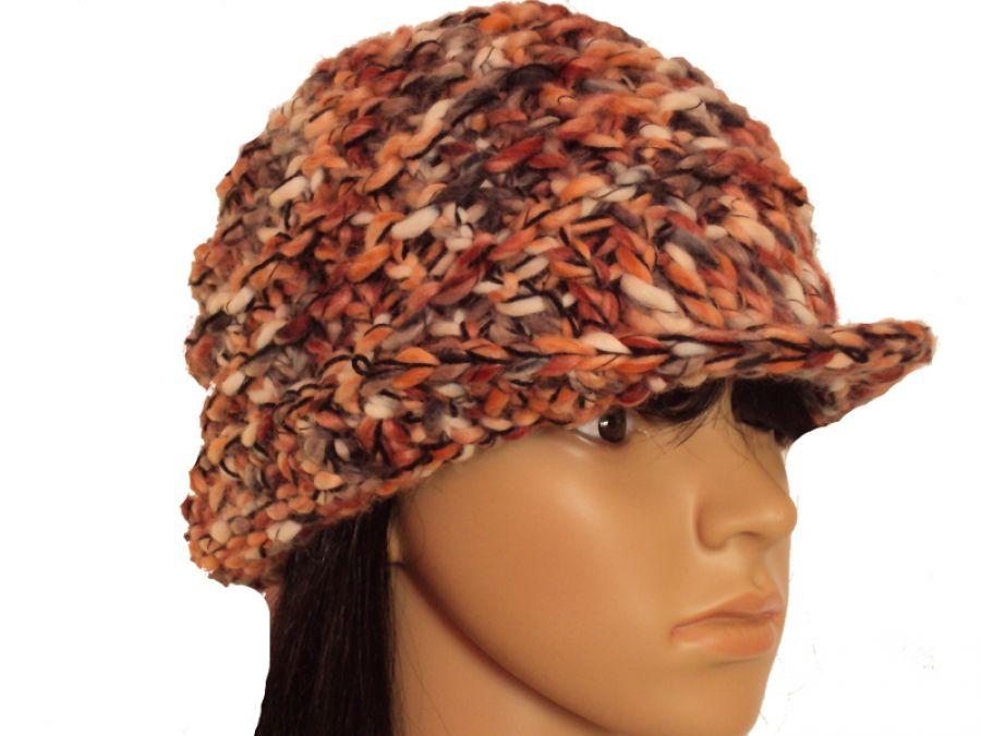"""kapelusz i komin """"jesienne barwy"""""""