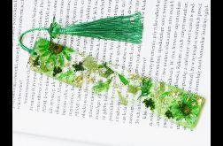Zakładka do książki - rainbow zieleń
