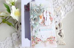 Ślubna kartka w pudełku 243