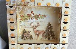 Kalendarz Adwentowy z otwieranymi szufladkami