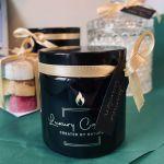 Cukierki Miętówki - świeca sojowa 120ml - świeca sojowa o zapachu cukierków miętowych