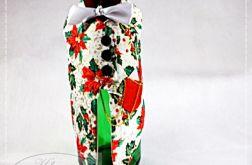 Świąteczny garniturek na butelkę 1
