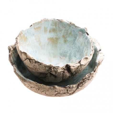 Dwie miseczki ceramiczne