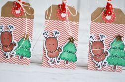 Zestaw 3 tagów na prezenty