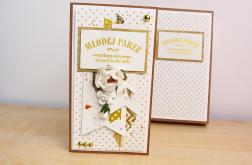 Młodej Parze - kartka w pudełku