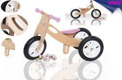 Rowerek biegowy od 25 cm LAILY 2w1