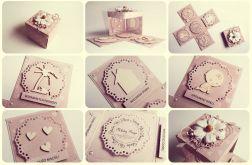 Pudełko z życzeniami z okazji ślubu