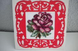 Róża czerwona - kartka okazjonalna