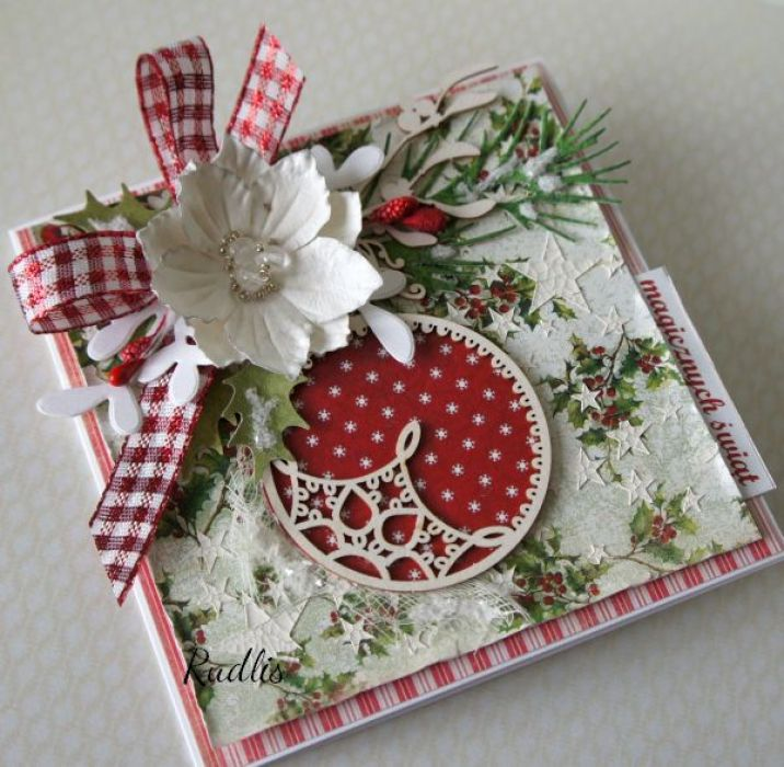 Kartka świąteczna Magicznych Świąt v.5 - bn1b