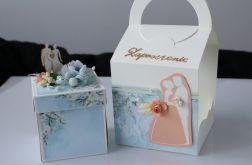 Zaproszenie ślubne Exploding Box w torebce