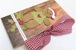 Czekoladownik bożonarodzeniowy - miś