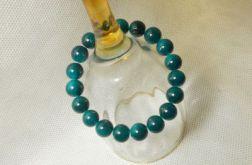 Bransoletka ze szklanych koralików 10mm