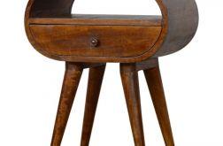 szafka nocna loft styl skandi drewno