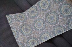 Bieżnik 50 x 110 cm - toskańskie mandale