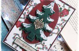 Kartka Świąteczna w stylu góralskim vol.2