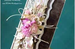 Kopertówka ślubna. Kartka na banknoty