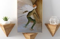 Anioł Niecnota... reprodukcja 20x30 cm.