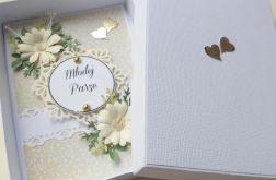 Kartka ślubna- Komplet