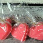 10 x Mydło różane serca prezent