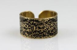 Piasek - mosiężny pierścionek 130620-06
