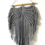 Makrama skrzydła dekoracja ścienna w stylu boho MS0107 - Makrama skrzydła boho