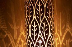 lampa stołowa liście