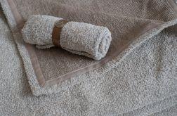 Lniany ręcznik o wymiarach 90cmx50cm