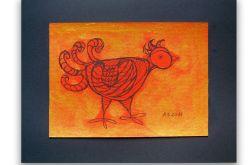 Ptaszek nr 6- rysunek dekoracyjny